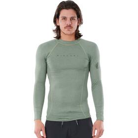 Rip Curl Dawn Patrol LS UV Shirt Men, verde